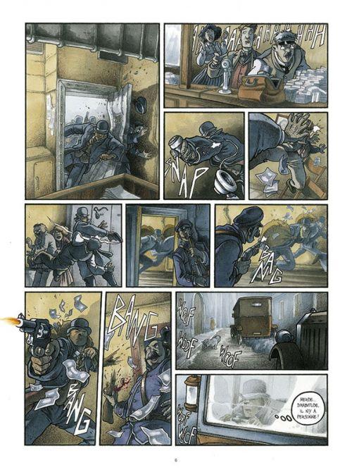 Cynocéphales T1 : La bande des dogues (0), bd chez EP Editions de de Payne, Tamiazzo