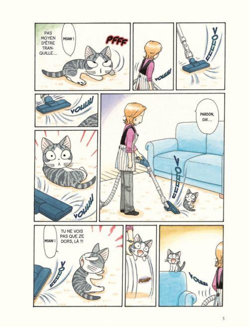 Chi - une vie de chat (format BD) T12, bd chez Glénat de Konami