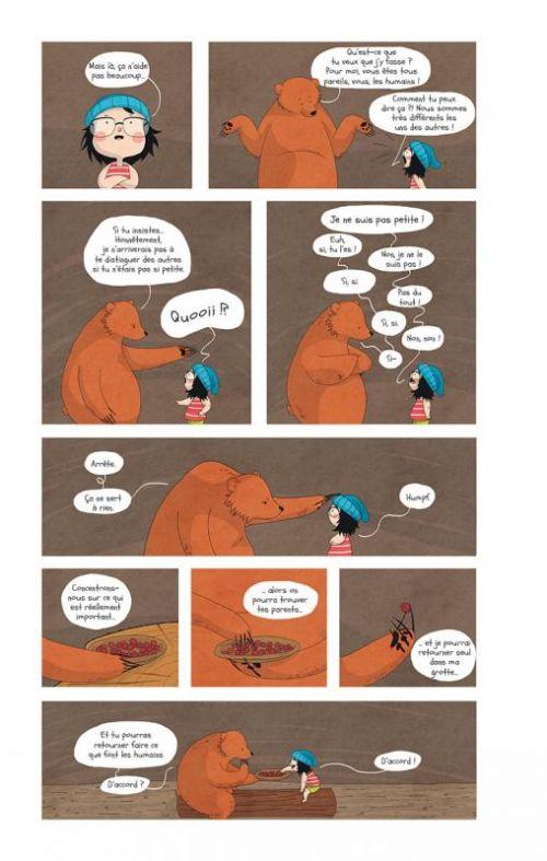 Raven & l'ours T1 : Raven & l'ours (0), bd chez La boîte à bulles de Pinheiro