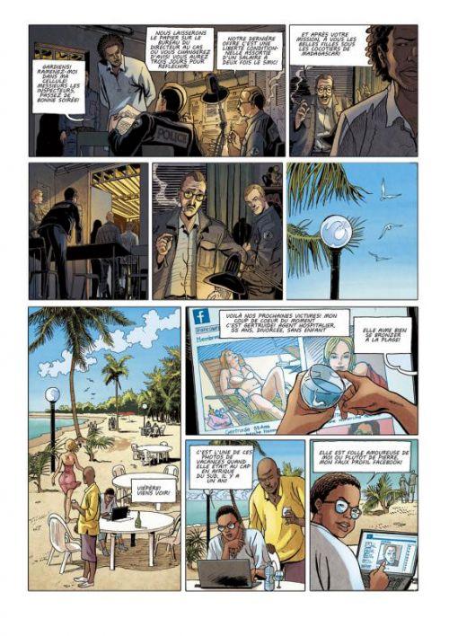 Ch@peau noir T1 : Rat (0), bd chez Des bulles dans l'océan de Nary, Raffaly, Alvarez