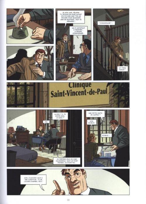 Les Mystères de la Cinquième République T5 : Au nom de la France (0), bd chez Glénat de Richelle, Ravard, Pradelle