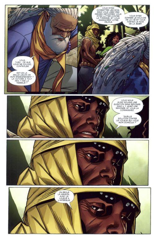 La Panthère Noire (2016) T2 : Une nation en marche (II) (0), comics chez Panini Comics de Coates, Sprouse, Martin, Udon Studios
