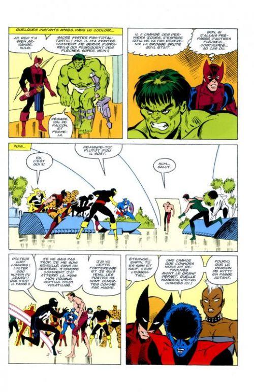 Marvel Events : Les Guerres Secrètes (0), comics chez Panini Comics de Shooter, Zeck, Layton, Scheele, Quality colors, Yomtov
