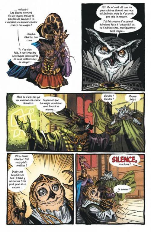The Autumnlands T2 : Retour à la terre (0), comics chez Urban Comics de Busiek, Dewey, Bellaire