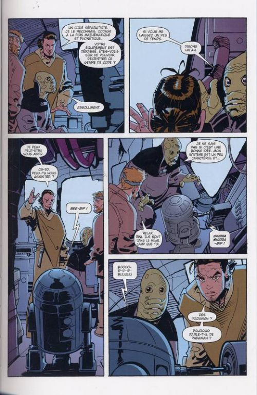Star Wars - Le côté obscur T4 : Le Général Grievous (0), comics chez Delcourt de Dixon, Leonardi, Marangon
