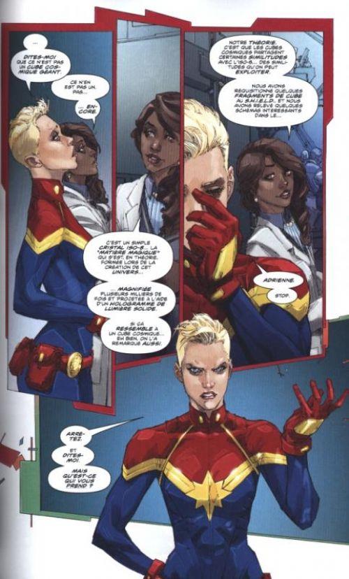 All-New Avengers - Hors Série T3 : Civil War II (0), comics chez Panini Comics de Ewing, Rocafort, Ward, Morissette, Brown