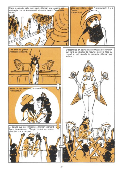 Une histoire du sexe, bd chez Les arènes de Brenot, Coryn