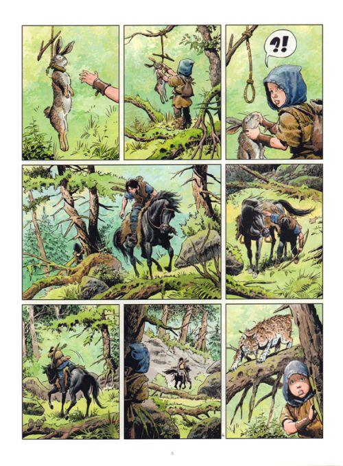 Les Mondes de Thorgal – cycle La jeunesse de Thorgal, T5 : Slive (0), bd chez Le Lombard de Yann, Surzhenko