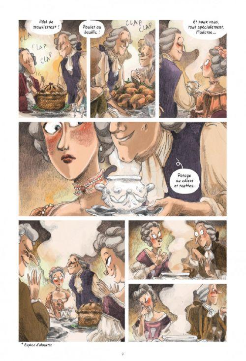 Dans les Cuisines de l'Histoire T3 : A la table des lumières (0), bd chez Le Lombard de Rutile, Begon