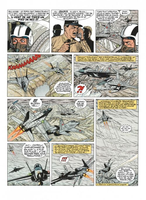 Buck Danny T12 : 1983-1989 (0), bd chez Dupuis de Charlier, Bergèse