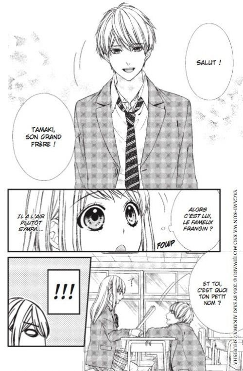Be-twin you & me T1, manga chez Soleil de Aikawa