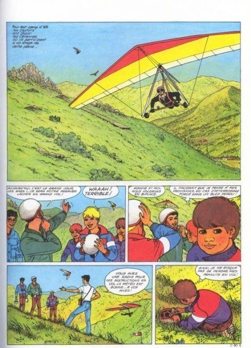 La patrouille des castors T30 : La pierre de foudre (0), bd chez Dupuis de Mitacq