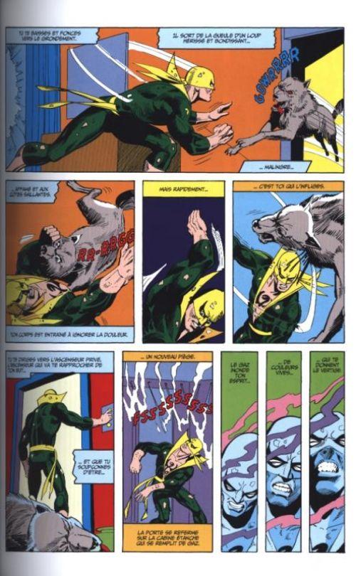 Iron Fist - L'intégrale T1 : 1974-1975 (0), comics chez Panini Comics de Thomas, Claremont, Wein, Moench, Isabella, Broderick, Byrne, Hama, Kane, Jones, Kellustration, Kelleher