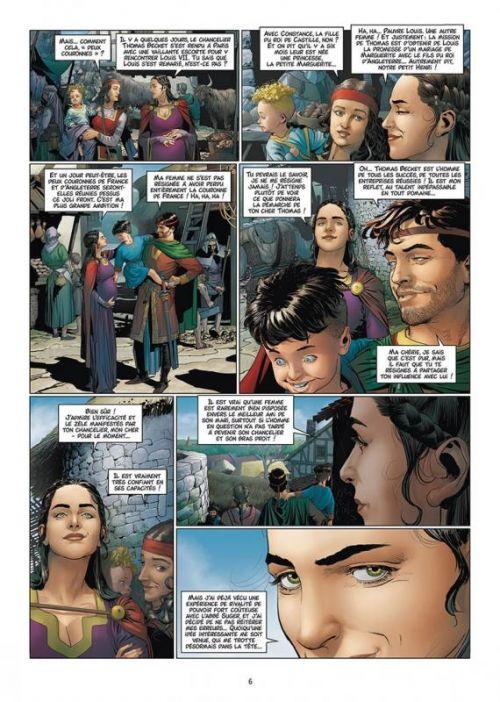Les Reines de sang – Aliénor la légende noire T6 : Aliénor, la légende noire (0), bd chez Delcourt de Mogavino, Delalande, Gomez, Rio