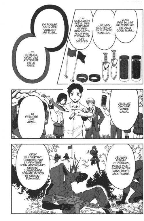 Assassination classroom T17, manga chez Kana de Yusei