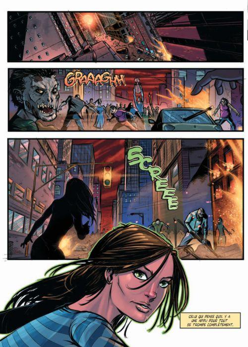 Nom de code : Evie, comics chez Dreamland éditions de Whyman, Sugg, Birdi, Pereyra