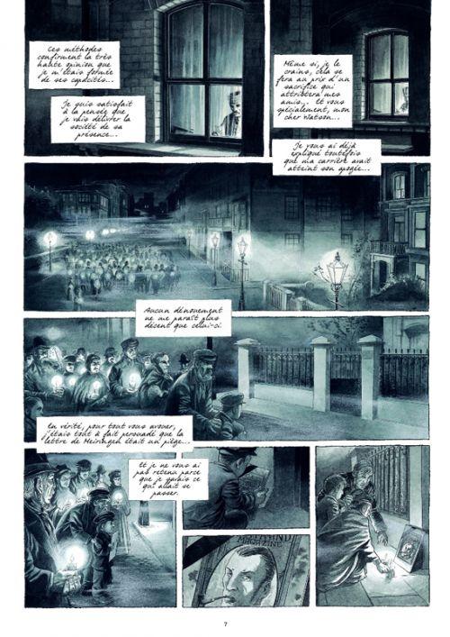 Holmes : Tome 1, L'adieu à Baker Street ; Tome 2, Les liens du sang (0), bd chez Futuropolis de Brunschwig, Cecil
