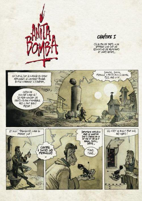 Anita Bomba comics T1 : Journal d'une emmerdeuse (0), comics chez Akileos de Gratien, Cromwell