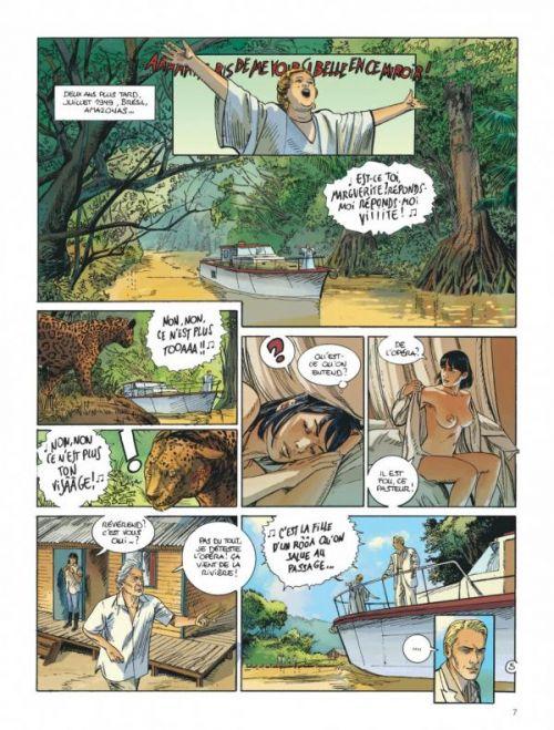 Amazonie T2, bd chez Dargaud de Léo, Rodolphe, Marchal, Bouët