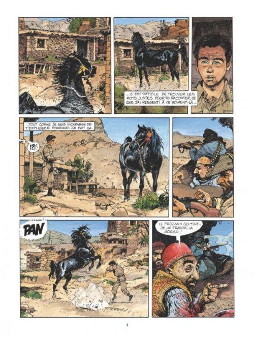 La Piste cavalière, bd chez Glénat de Faure