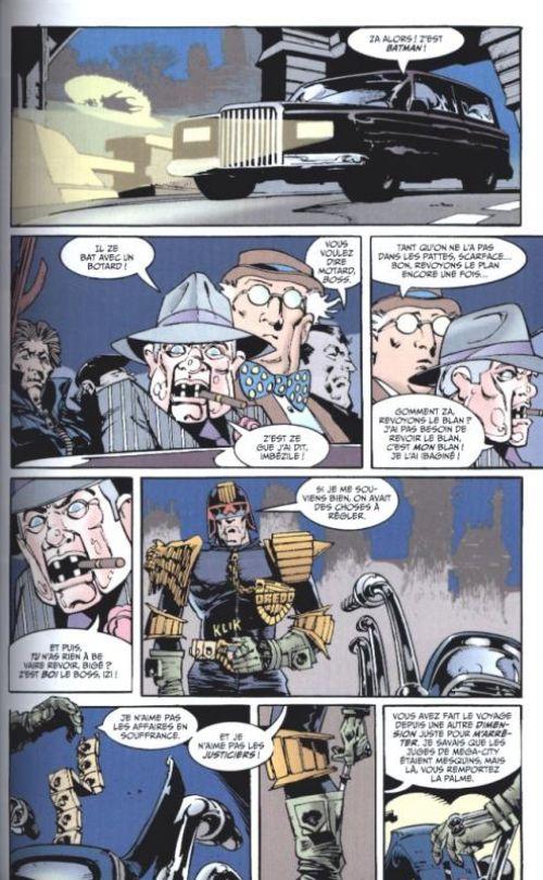 Batman - Judge Dredd, comics chez Urban Comics de Wagner, Grant, Semeiks, Brashill, Kennedy, Bisley, Murray, Power, Fabry, Critchlow, Digital Chameleon, Vasquez