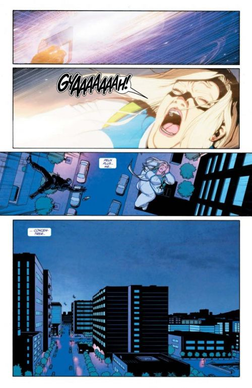 Faith T2 : Doubles et faux-semblants (0), comics chez Bliss Comics de Houser, Pérez, Sauvage, Doran, Dalhouse, Wada