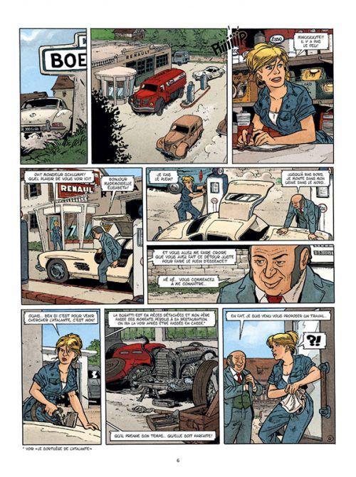 Les Aventures de Betsy T2 : Le fantôme d'argent (0), bd chez Paquet de Marin, Jérôme, Alquier