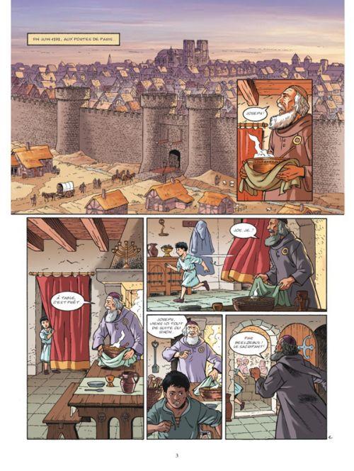 Les aigles décapitées T28 : Le bûcher (0), bd chez Glénat de Pierret, Pierret