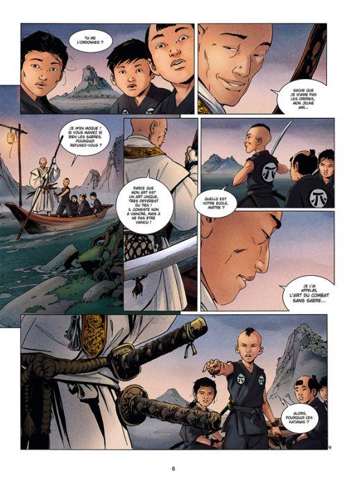 Samurai Origines T1 : Takeo (0), bd chez Soleil de Di Giorgio, Vax, Paitreau
