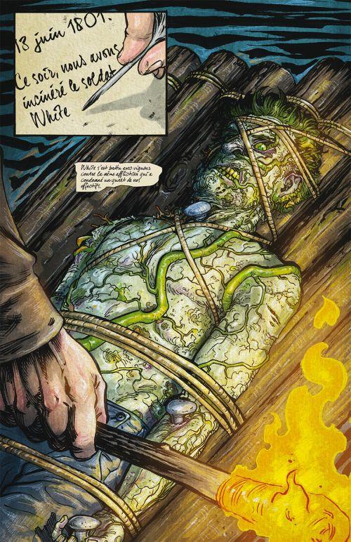 Manifest Destiny T3 : Chiroptères et carnivores (0), comics chez Delcourt de Dingess, Roberts, Gieni