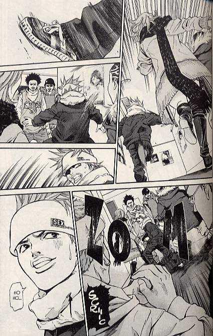 Saru Lock T1, manga chez Pika de Serizawa