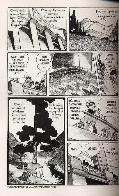 Tonkaradani, manga chez Milan de Tezuka