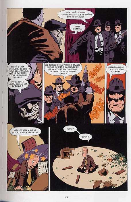 The Goon T1 : Rien que de la misère (0), comics chez Delcourt de Powell