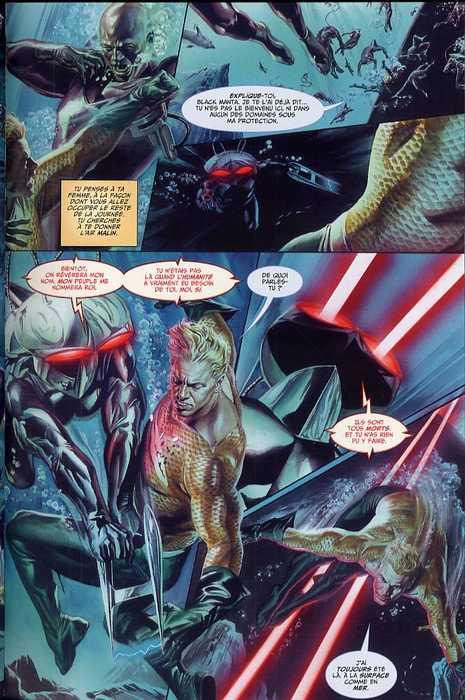 JLA - Justice T1, comics chez Panini Comics de Krueger, Braithwaite, Ross