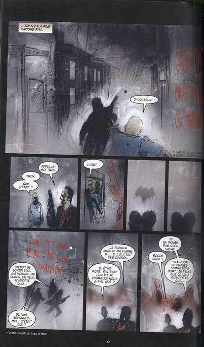 Silent hill : Pourri du ventre (0), comics chez Carabas de Ciencin, Templesmith, Salman, Wood
