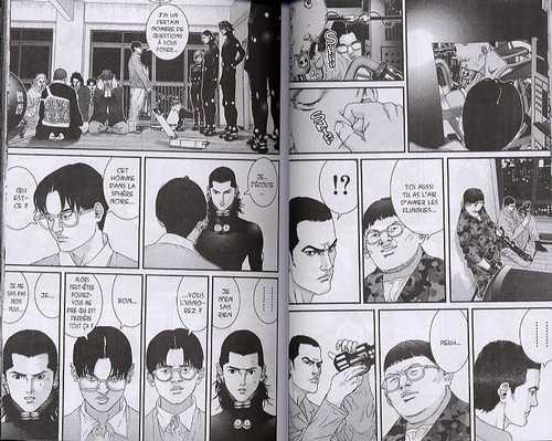 Gantz – 1e edition, T6, manga chez Tonkam de Oku