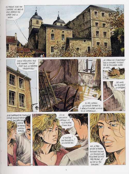 Tendre Violette T7 : Les enfants de la citadelle (seconde partie) (0), bd chez Casterman de Servais, Raives