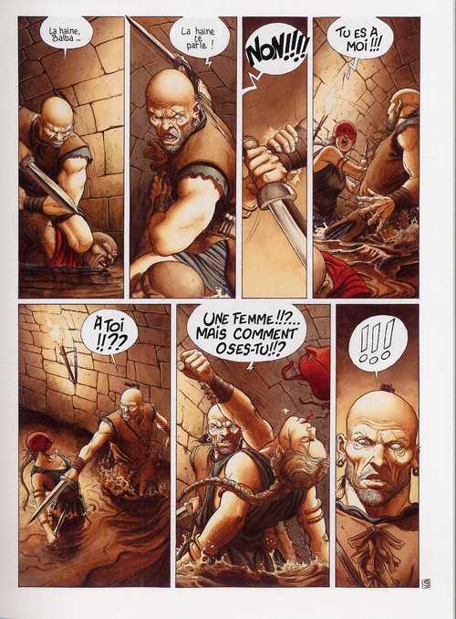 Murena T6 : Le sang des bêtes (0), bd chez Dargaud de Dufaux, Delaby