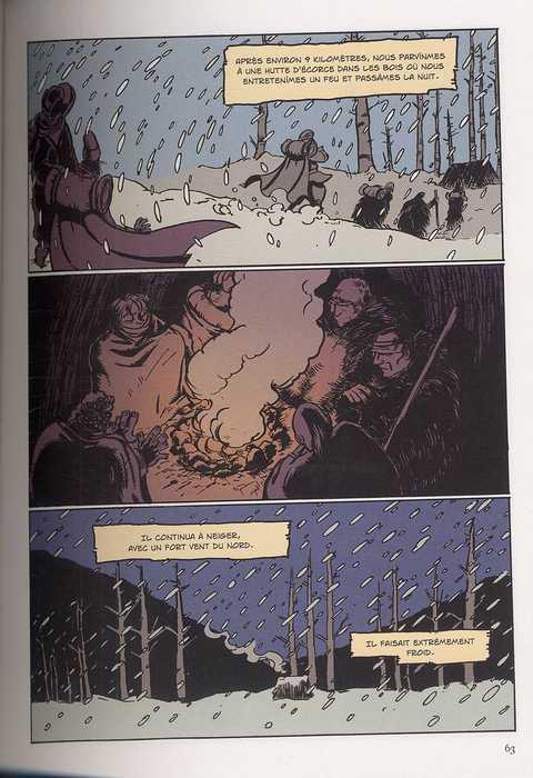 Voyage en pays Mohawk, bd chez Dargaud de Van den Bogaert, O'connor, Sycamore