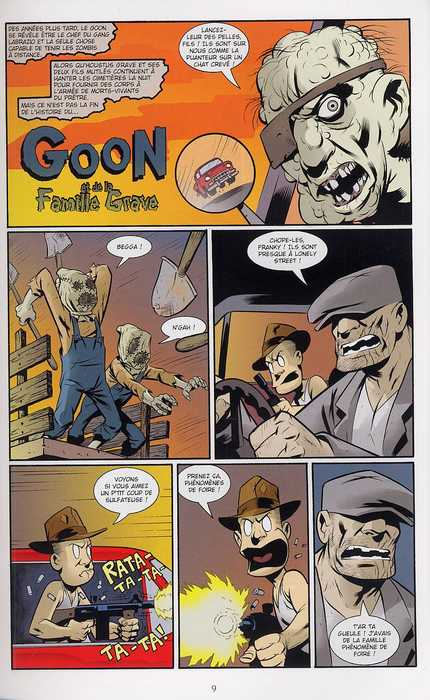 The Goon T2 : Enfance assassine (0), comics chez Delcourt de Powell, Hotz