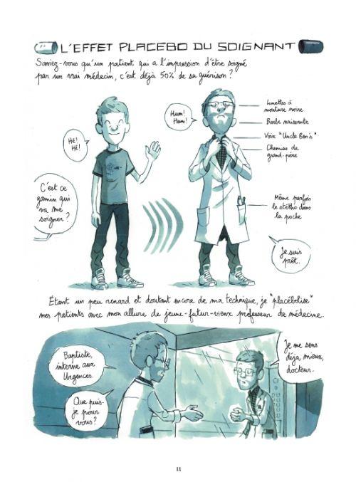 Les Mille et une vies des urgences, bd chez Rue de Sèvres de Beaulieu, Mermoux