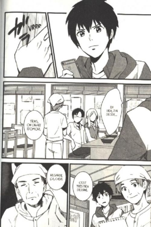 Your name T2, manga chez Pika de Shinkai, Kotone