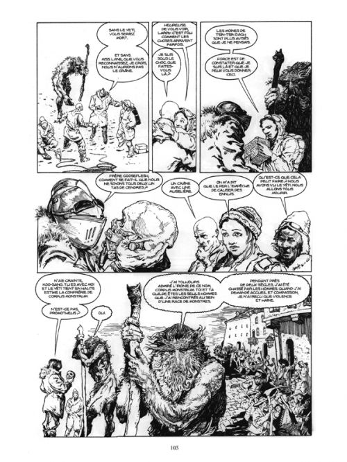 Corpus Monstrum, comics chez Mosquito de Gianni