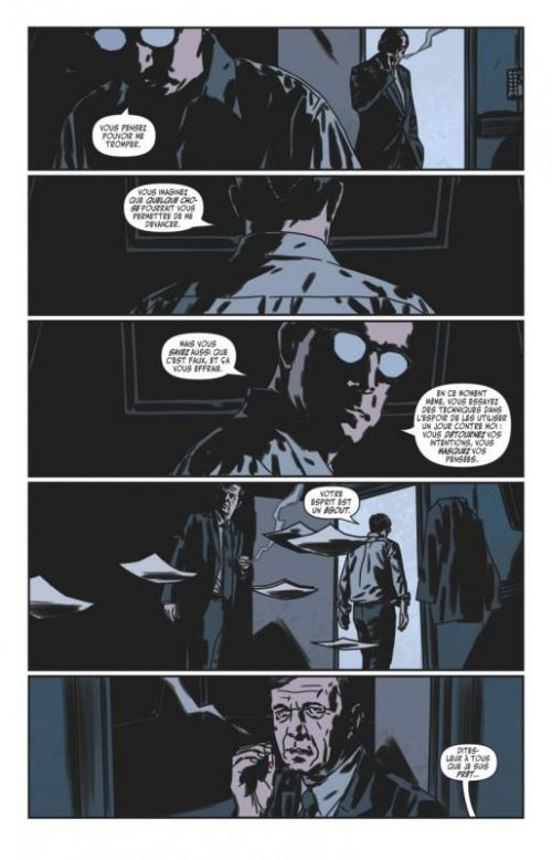 The X-Files T5, comics chez Glénat de Harris, Dow Smith, Bellaire, Bannister