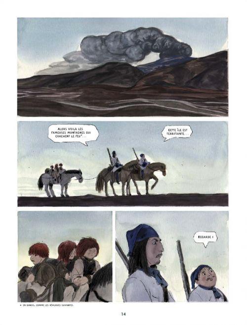 La Saga de Grimr, bd chez Delcourt de Moreau
