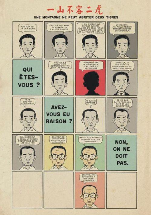 Charlie Chan Hock Chye, comics chez Urban Comics de Liew