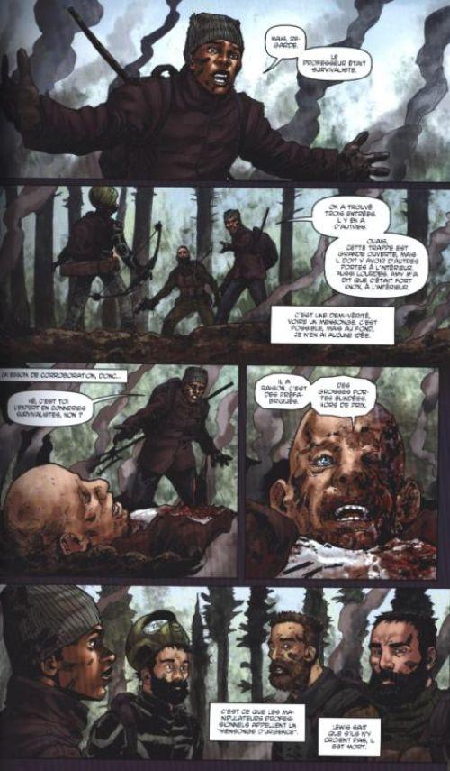 Crossed - Terres maudites T11 : Homo Tortor (0), comics chez Panini Comics de Gillen, Ortiz, Digikore studio, Heinz furukawa