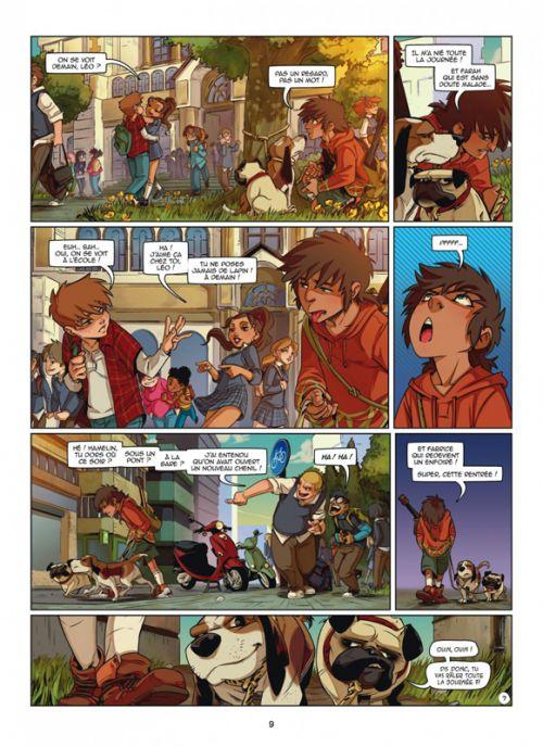 Magic 7 T5 : La séparation (0), bd chez Dupuis de Toussaint, Ruiz, Noiry