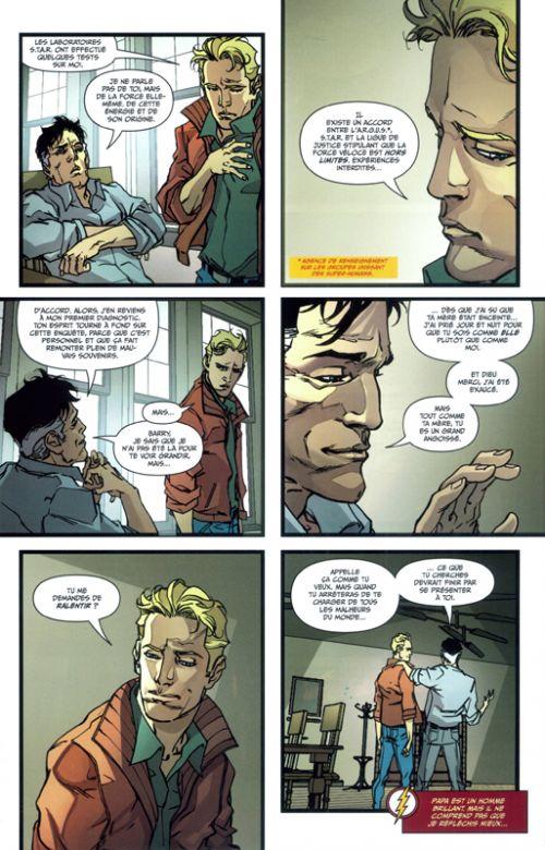 Flash Rebirth T1 : Coups de foudre (0), comics chez Urban Comics de Williamson, Googe, Di Giandomenico, Watanabe, FCO Plascencia