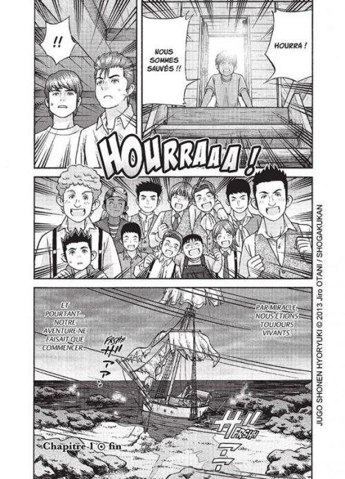 Deux ans de vacances, manga chez Nobi Nobi! de Verne, Otani